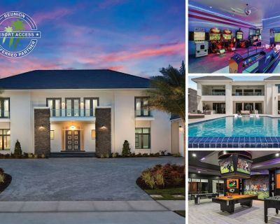 The White House at Reunion | 12,982 Sq. Ft. Villa with Two Lane Bowling Alley - Reunion