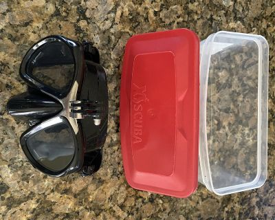 GoMask Adult ScubaPro Dive Mask for Mounting Go Pro Camera