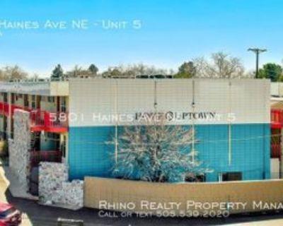 5801 Haines Ave Ne #5, Albuquerque, NM 87110 1 Bedroom Apartment