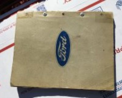 Ford 1949 chassis parts book original