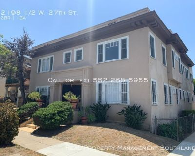Fully Remodeled 2 Bed + 1 Bath Los Angeles Apartment for rent!!!