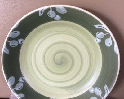 6 Villa Romana pasta bowls + 1 serving bowl