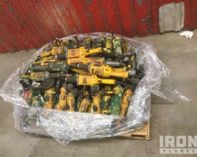 Lot of Electric Grinders