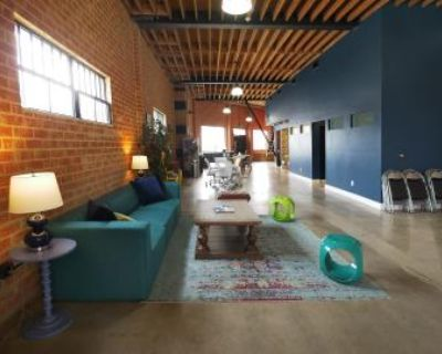 Large Loft Event Space in Heart of LA, Los Angeles, CA