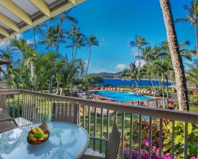 Lae Nani #124, Ocean Front, wonderful view, tastefully remodeled - Wailua