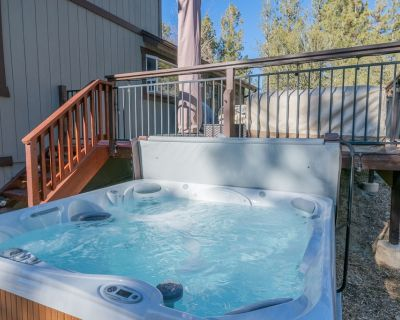Stony Creek Cabin - Free Bike/kayak Rental! 4br/2.5ba/hot Tub/wifi/forest Views - Eagle Mountain Estates