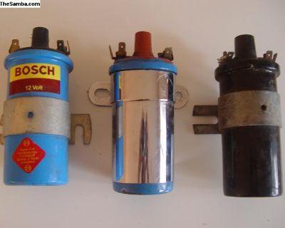 Ghia Porsche 3x Bosch German Ignition Coil 12 Volt