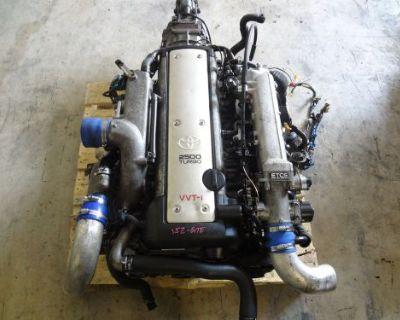 Jdm 1jzgte Vvti Turbo Engine 5 Speed R154 Transmission Ecu 1jz 2jz Supra Chaser