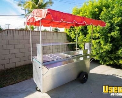 Brand New Mobile Hot Dog Street Food Vending Concession Cart