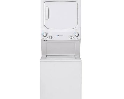 "NEW 27""GE STACKUNIT WASHER DRYER LAUNDRY CENTER IN BOX"