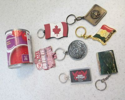 Lot of key chains