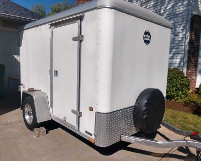 Enclosed Trailer Wells Cargo 6 x 10. 6 ft tall inside as well