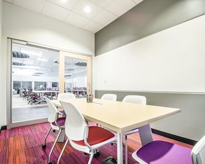 Quiet & vibrant meeting room for 6, Denver, CO