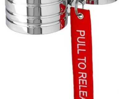 Fire Extinguisher Band Clamp, 2.5 Lb, Polished