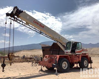 1994 Link-Belt RTC-8030 60000 lb Rough Terrain Crane