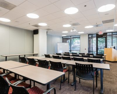 Classroom Style Conference Space (CR A, Room 122A), Fairfax, VA