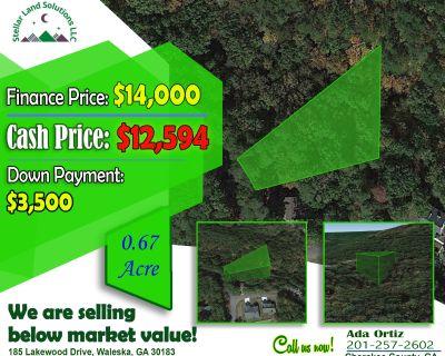 0.67 Acres for Sale in Waleska, GA