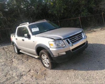 Salvage Silver 2007 Ford Explorer Sport Trac