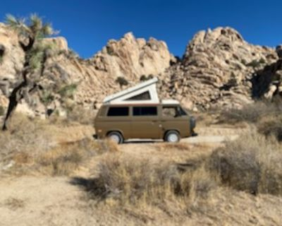 1981 VW Vanagon Westfalia Camper Van