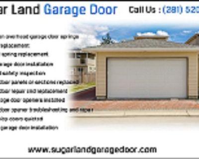Commercial New Garage Door Installation/ Repair Service $25.95 Sugar Land, 77498