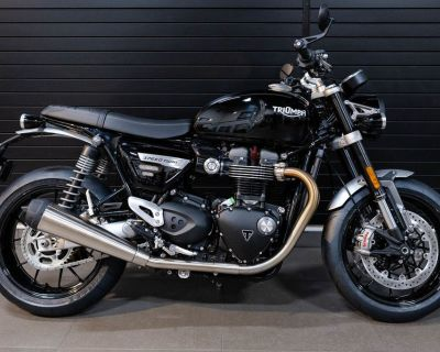 2022 Triumph Speed Twin Jet Black