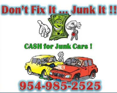 We Buy Used and Junk Cars & Trucks