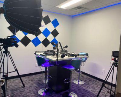 Good Vibe styled Podcast Room, Tucker, GA