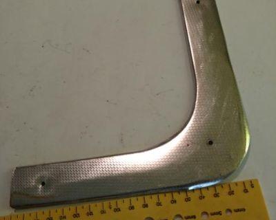 Door kick plate trim