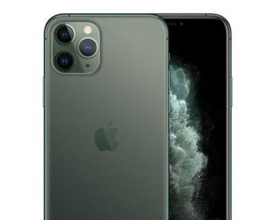NEW APPLE iPHONE 11 PRO MAX 256GB Midnight Green BRAND NEW SEALED UNLOCKED