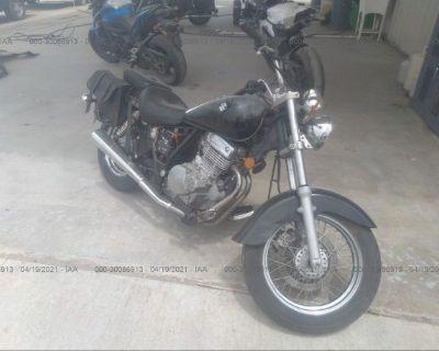 Salvage Black 2007 Suzuki Gz250