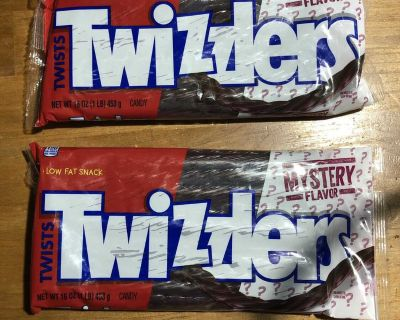 Brand new large bags of twizzlers