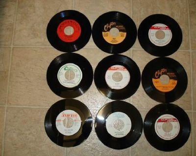 9 CLIFTON RECORDS LABEL*MINT-DOO WOP*45s !