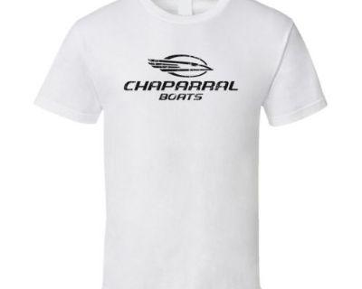 Chaparral Boats White Short Sleeve 100% Pre-shrunk Cotton T-shirt X-large
