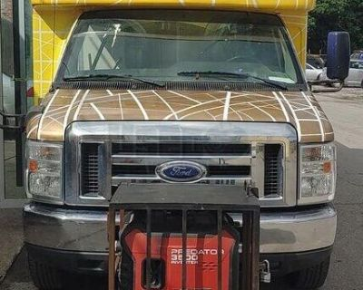 Ready to Cook and Serve 2014 Ford E350 All-Purpose Food Truck