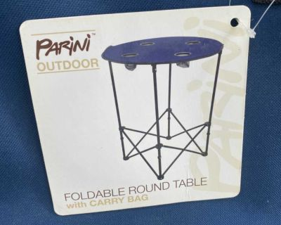 Camping/outdoor foldable table