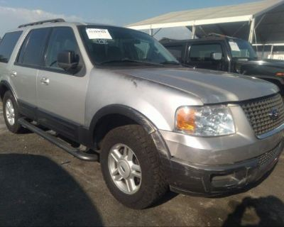 Salvage Silver 2005 Ford Expedition