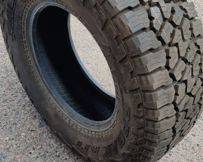 Colorado - 2020 Jeep Gladiator Rubicon Wheels and Tires with TPMS included