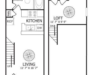$800 1 loft in Tarrant County