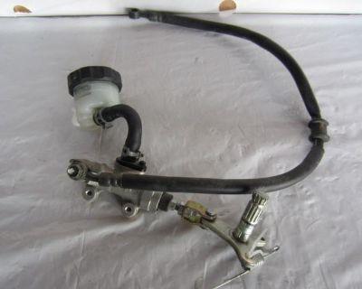 06 Suzuki Gsx 600f Katana Rear Brake Caliper Master Cylinder