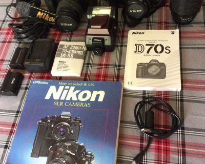Nikon Camera Digital and 35mm SLR