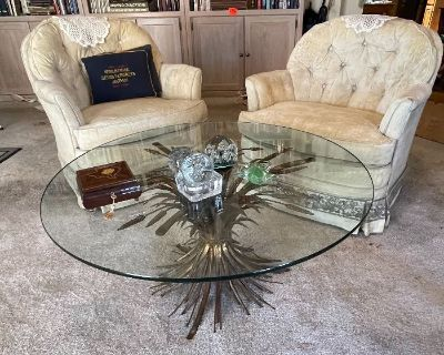 Estate Sale Garage FULL, Plumbing Supplies, Quality Furniture, Home Decor, LSU Items, Coins