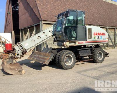2006 Gradall XL3300 Wheel Excavator
