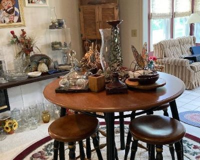 Antiques, Crystal, Furniture, Appliances and more