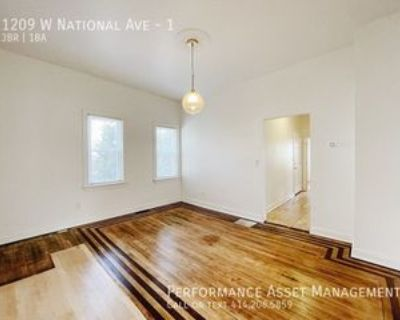 1209 W National Ave #1, Milwaukee, WI 53204 3 Bedroom Apartment