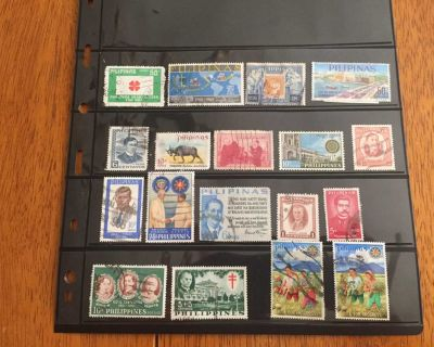 Collectable Philippines postage stamps