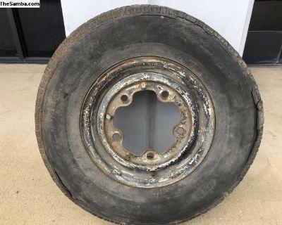 "14"" inch Bus wheel #1"