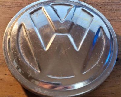 100M VW Oval, Split, Polished 100MM Gas Cap, BLAU