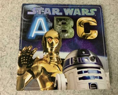 Star Wars ABC Book See additional pics..