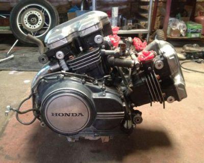 82 Honda Magna 1100 Engine - For Parts Or Rebuild