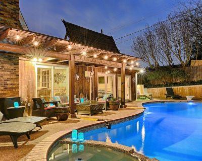 Heated Swim Pool, Hot Tub, Pool Table, Ping Pong, Darts, Foosball, Arcade Games - Las Colinas